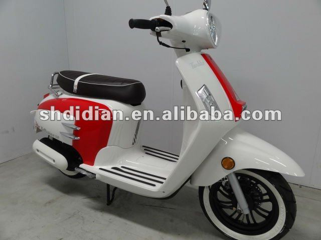 EU like Lambretta/ retro/vintage/vespa style 49cc/125cc scooter/moped/roller/motorcycle with 25kmh/45kmh/85kmh,12in tire EEC,COC