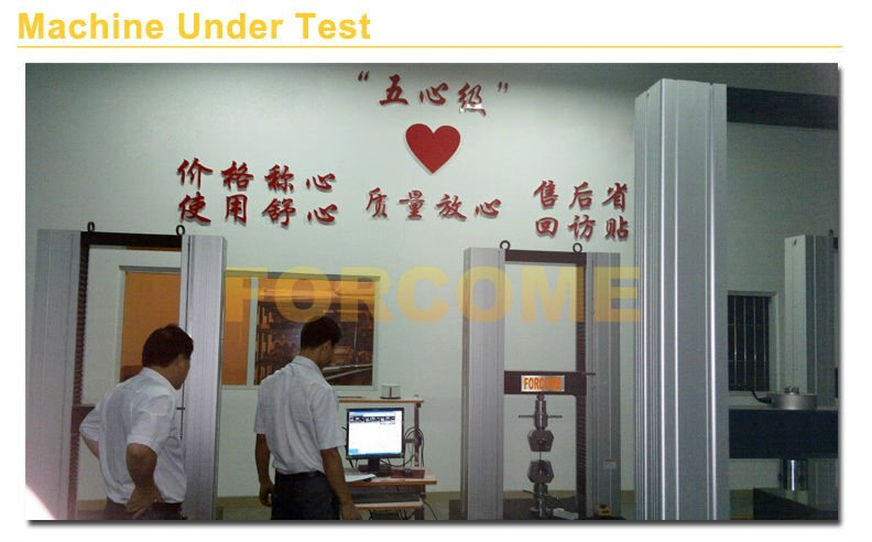 Plastic film universal testing machine/tensile strength tester/universal testing machine price FT-5