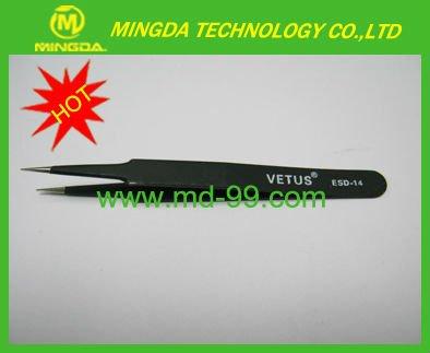 VETUS tweezer / Stainless steel tweezers / Antistatic ESD tweezers ESD-14