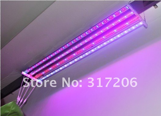 2012 hot sale,27W(27x1W) waterproof led Grow lights,including Power Supply,high quality,dropshipping