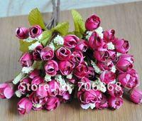 Сооружения для сада Artificial silk flower mini rose 15pcs/ lot 33cm