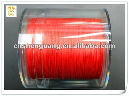 4 strands seven color braided fishing line(10meter one color)