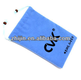 2014 New design velvet cellphone bags
