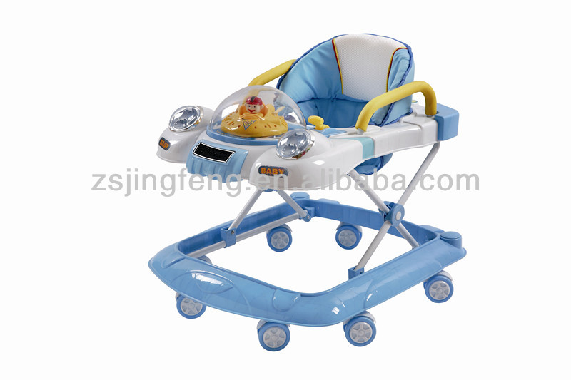 swivel wheels baby walker