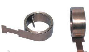 10mm 압연 아연 도금 스프링 스틸 벨트 클립과 안경과 가방