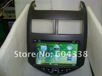 8 inch  for (2012--)Chevrolet AVEO /Chevrolet Sonic/Holden Barina,GPS+Bluetooth+FM+Ipod+CANBUS+2G SD card with map