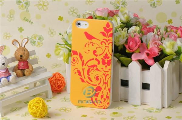 Cute imd uv printing stylish sublimation case for iphone 5
