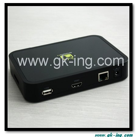 Android 2.2 Google IPTV Set Top Box