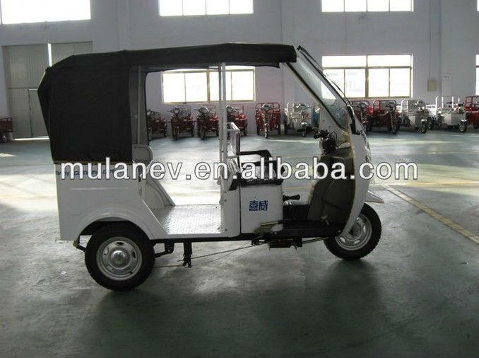 2013 Hot 1000W/1200W Bajaj electric auto rickshaw, battery operated auto rickshaw