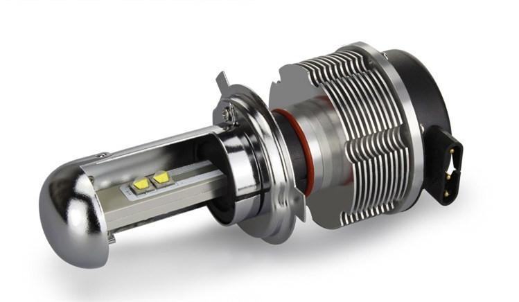Светодиодные лампы h4 и их особенности
