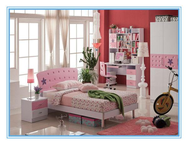 nios cama con escritorio y silla dormitorio infantil para las nias