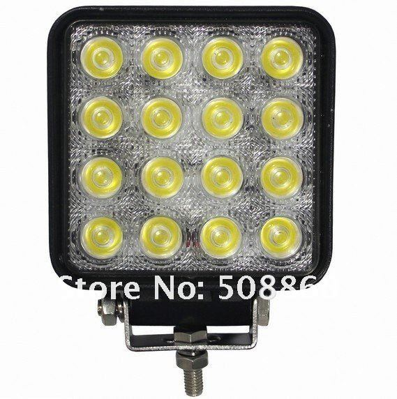 48W tractor offroad LED work light,working lamp,Fog light kit,Free shipping