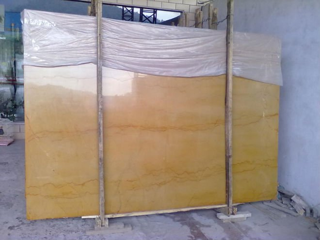 60x60 Yellow Marble tile