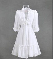 Женское платье 2012 New fashion spring summer chiffon cute Mini work Dress casual princess design lady Women women's Dresses s013