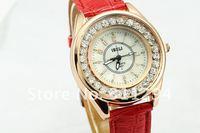 Наручные часы 10 colors Luxury Watch Woman Fashion Imitation Diamond Shinning Quartz Watch wrist watch JW002
