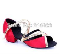 в складе моды 6 детей латинский/современный/практика танцевальная обувь, обувь для девочек, детские Бальные в стиле сальса обувь