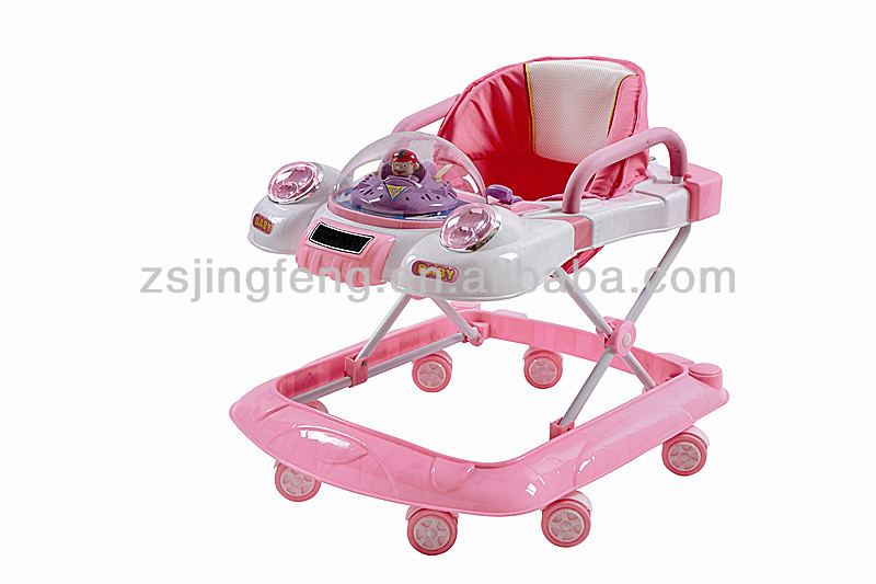 Swivel Wheels Baby Walker Walker Buggy