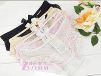 Женские трусики Pierced Butterfly lace sexy underwear