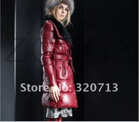 Женская одежда из кожи и замши sell! and retail ladies autumn and winter essential warmth the fashion sheep suede clothing down jacket