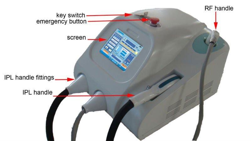 Mesotherapy sistemas IPL hair remover