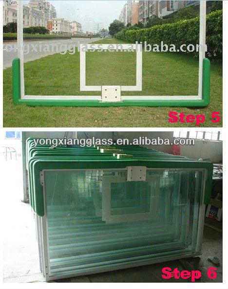 Wall Mounted Basketball Backboard