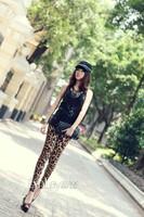 Женские носки и Колготки Hot Sexy! VQ167 New 2013 Autumn Thin Leopard Printed Leggings for Women large Size XL Pencil Pants Women