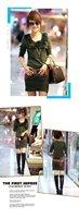 Женское платье rabbit hair o neck ladies cotton dress, not include belt spring/autumn/winter clothes, &Retail