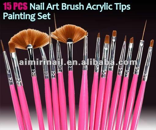 two way Sizes Nail Art DOTTING Pen Tool Dot Paint Set