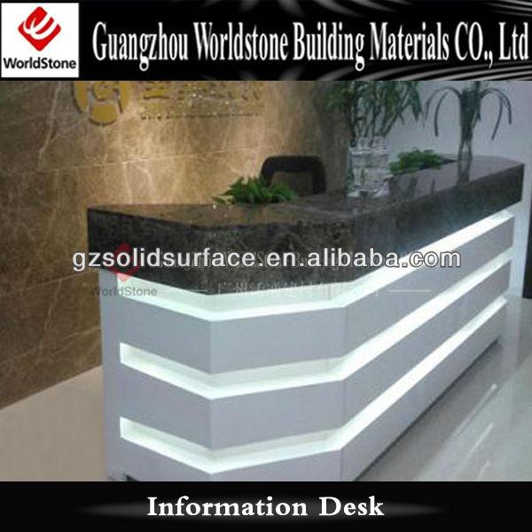 Mall Lobby Reception Desk Information Desk Design - Buy Reception Desk ...