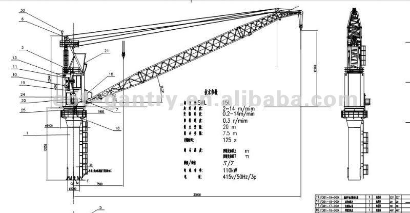 Goodcost Ship Crane,Ship deck cranes,cargo ship crane