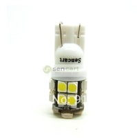 In stock 4cps x T10 W5W 20-SMD 3528 LED White lights interior, license plate, parking bulbs