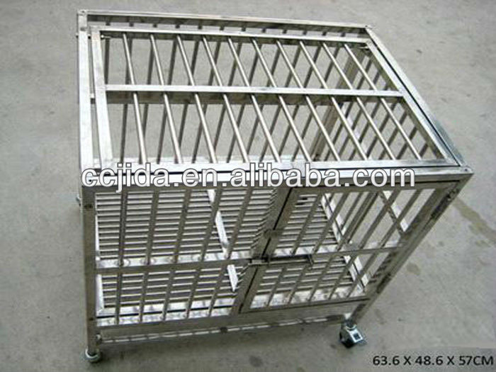 Manufacture stainless steel pet cage