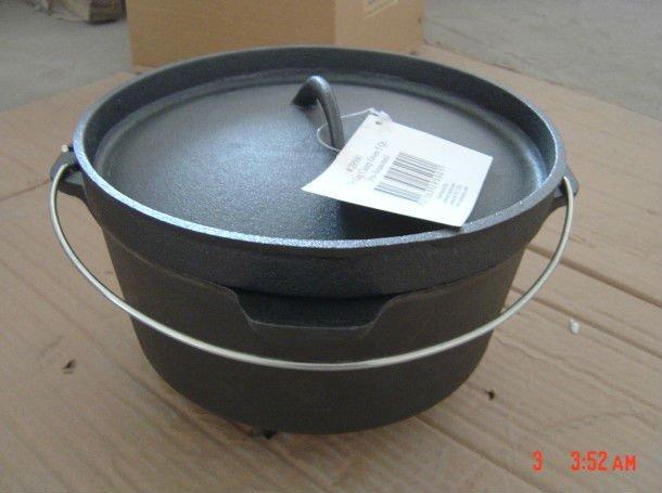 Seaso<em></em>ned Cast Iron Dutch Oven