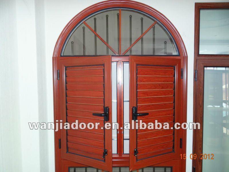Cheap aluminium adjustable louver window for sale