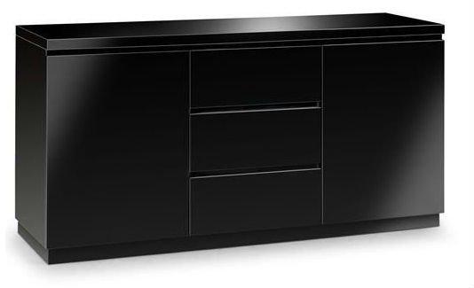 Artesanato Nordeste Brasileiro ~ Hot alto brilho multi uso buffet aparador de madeira preta Armários de madeira ID do produto