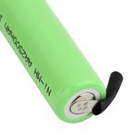 2шт ni-mh aa аккумулятор 1, 2В 2500mah батарею питания аккумулятора с припоя вкладок dropshipping