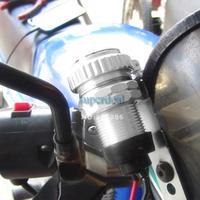 изменение мотоцикл аксессуары 12v мотоциклов руль сотовый телефон водонепроницаемый usb зарядное устройство питания адаптер 19459 z