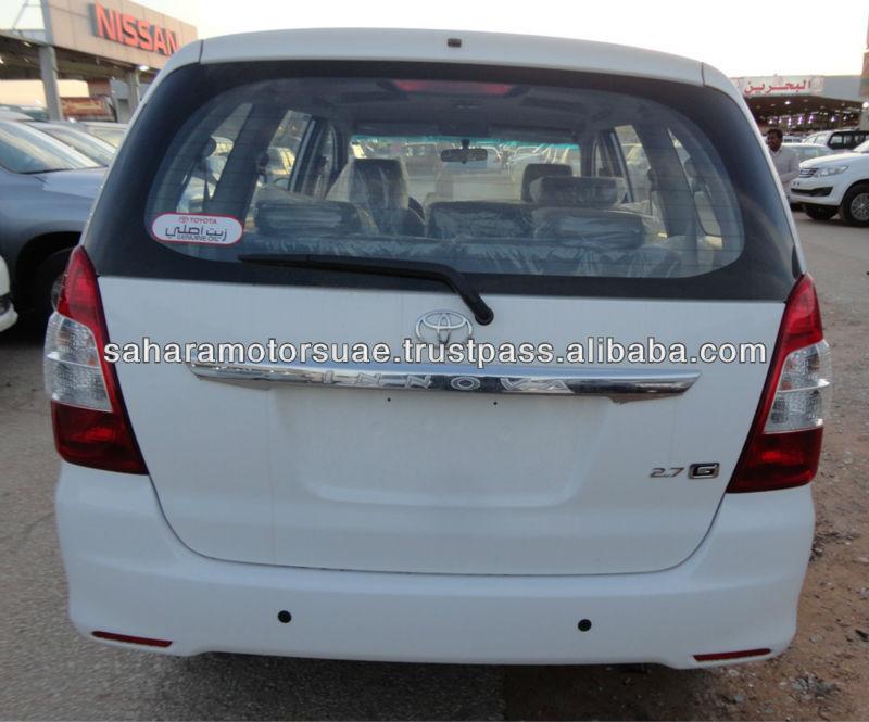 2013 MODEL NEW CAR TOYOTA INNOVA 2.7L PETROL 8 SEAT