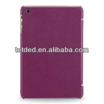 OEM Premium Leather Case for Apple iPad mini with Retina display -- Quimper (LC: Purple)