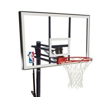 Clear acrylic backboard