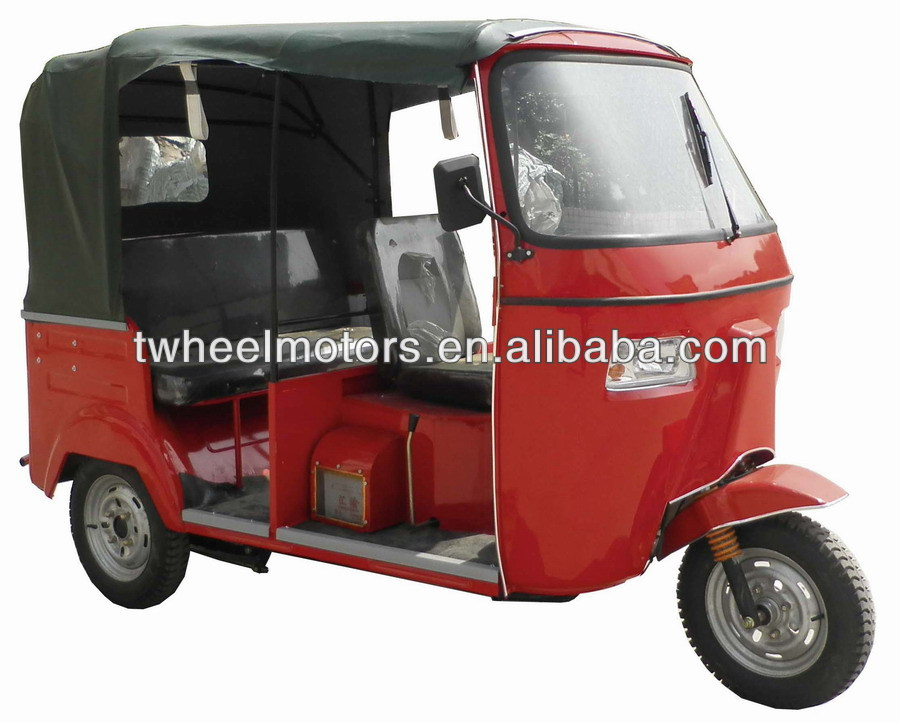 Moto Taxi With Center Engine, Adult Tricycle