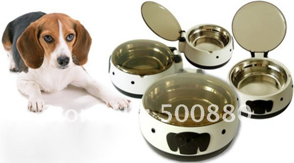 Wholesales-Small Size Sensor Stainless steel Automatic Pet Bowl