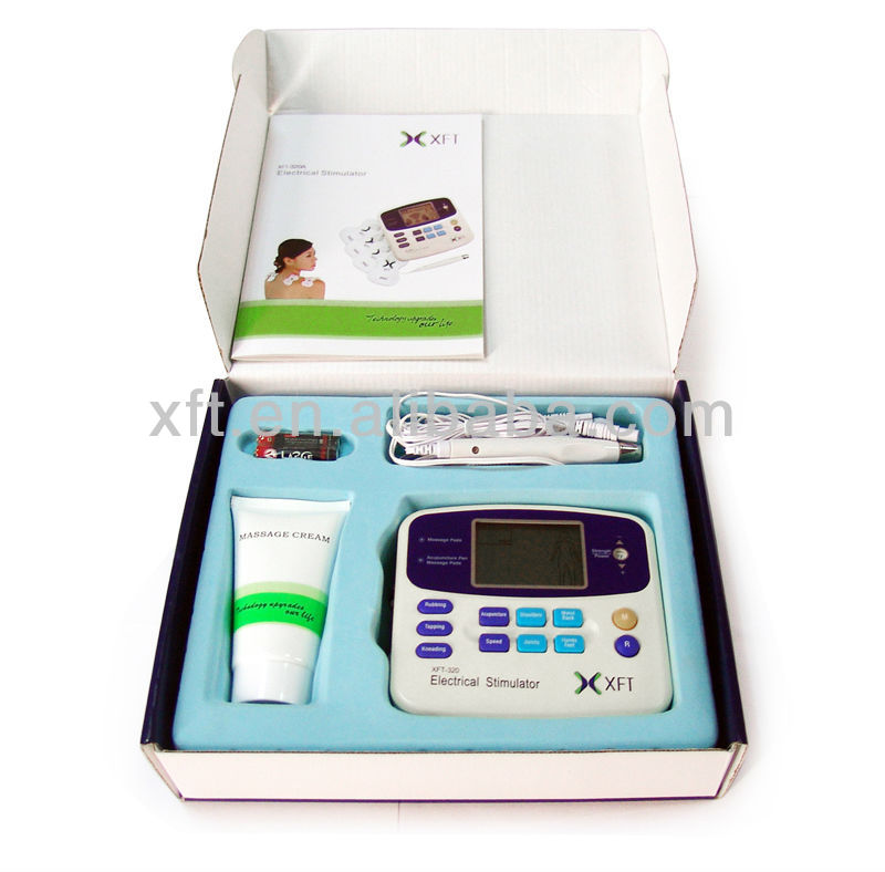 (CE and ISO Manufacturer!) Electronic Muscle Stimulator with acupuncture pen