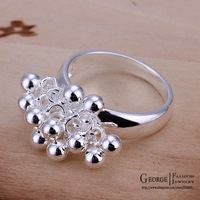 Кольцо GSSPR016/, silver plated ring, pearl jewelry, Nickle antiallergic, factory price