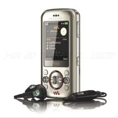 original SONY Ericsson w395 mobile phone unlocked w395 cell phones bluetooth mp3 player free shipping