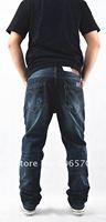 2012 New arrival Top brand Men's fashion straight jeans denim jeans big size 28-40