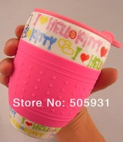 Кружка new arriving cut hello kitty cup, ceramic cup, environmental water cup., 1 pc 1 lot