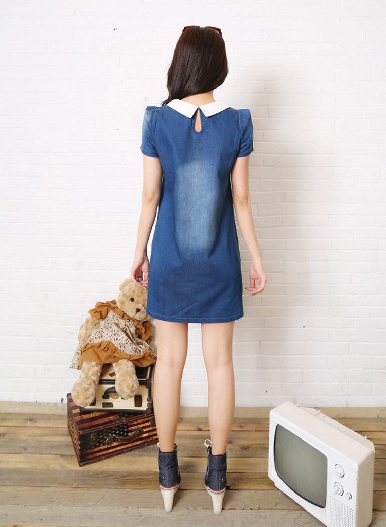 Платья Из Джинсы Доставка