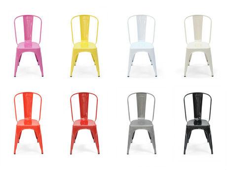 pas cher couleur poudre revêtement métal tabouret de bar chaise ... - Chaise Pas Chere