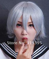 Ева Нагиса Каору / cosplay парик короткие партии Парики синтетические волосы аниме товары cwf0784